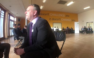 Mark Tarry of Network Rail stars in Career WorkOut video